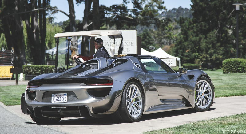Illustration for article titled I can't get enough of the Porsche 918