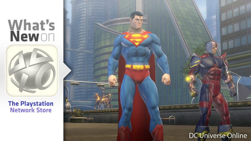 Illustration for article titled Free-to-Play DC Universe Online, Arkham City Content New on the PlayStation Store