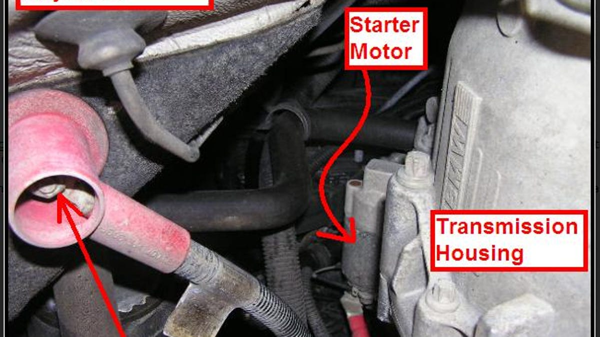 Tips For Replacing The Starter On A Bmw Inline 6 325i Location