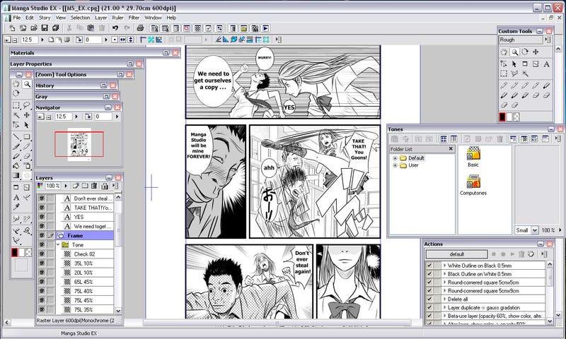 Manga Studio Debut Windows 4 by FDGD rar