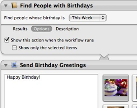 Never forget to send another birthday email weblog tuaw details how to take advantage of your macs built in automation tool automator to send out birthday greetings on the day of to everyone in m4hsunfo