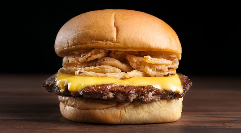 Illustration for article titled Shake Shack's new fried shallots burger looks like crunchy deliciousness