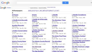 Illustration for article titled Google Redesigns News Archive, Makes Searching Through Newspapers Easy