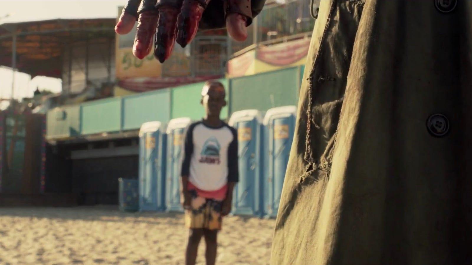 Resultado de imagem para us movie beach jordan peele