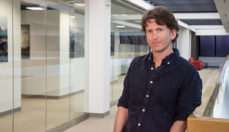 Illustration for article titled Watch Fallout 4 Director Todd Howard Talk Video Games