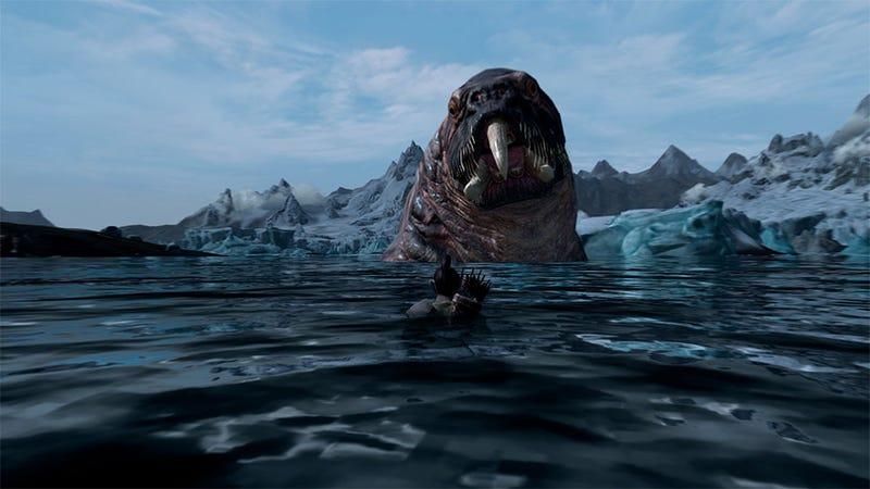 Illustration for article titled Skyrim Gets Giant Monsters Courtesy Of Fantastic Mod