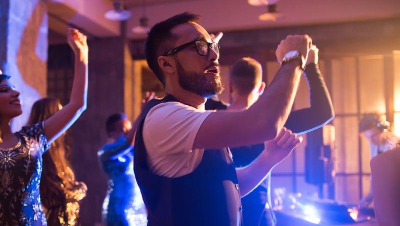 Illustration for article titled Music Compels Weak Man To Dance