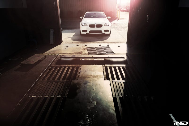 Illustration for article titled iND BMW F10 M5 Dyno Gallery