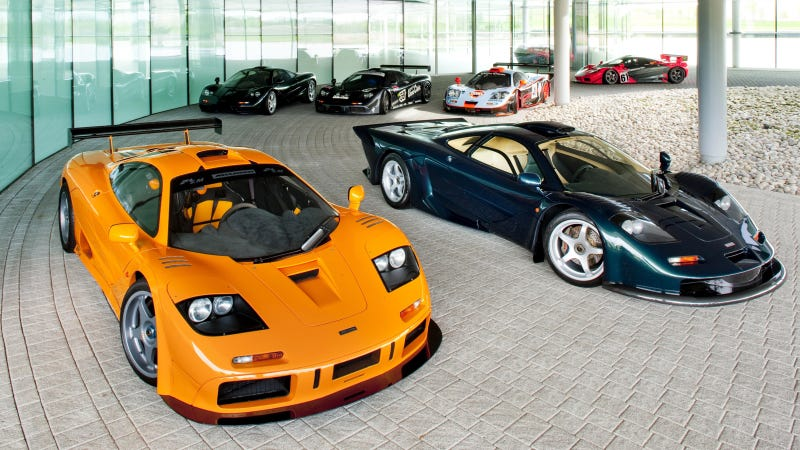 Illustration for article titled The Best Part Of The McLaren F1