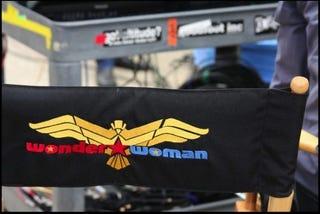 Illustration for article titled Wonder Woman Set Logo