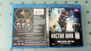 Illustration for article titled Doctor Who season finale shows up in the mail a few days early