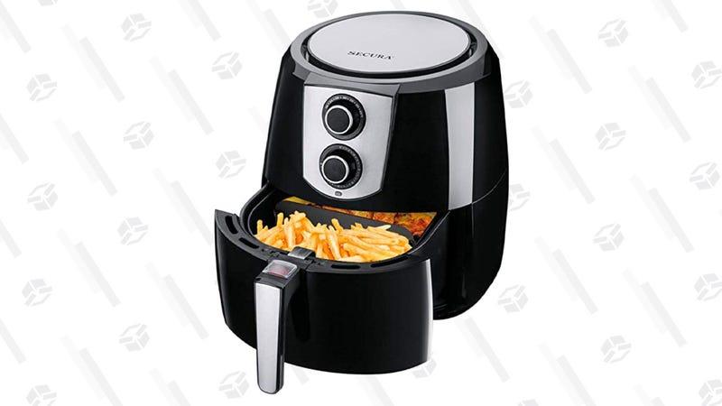 Secura 5.5 Qt. Air Fryer | $70 | Amazon | Clip the $20 coupon