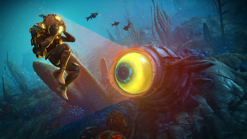 Illustration for article titled No Man's Sky's Latest Update Will Be Underwater