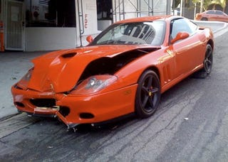 Illustration for article titled When Ferrari-Smashing Parking Attendants Attack
