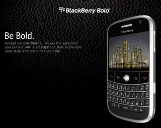 Illustration for article titled BlackBerry Bold (aka 9000) Officially Official