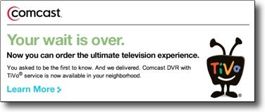 Illustration for article titled First Guy to Get Comcast TiVo in Boston Liveblogs the Ordeal (Sorta)