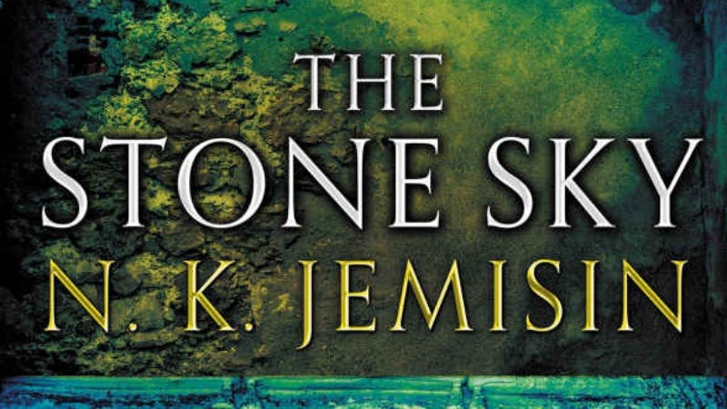 The cover for N.K. Jemisin's The Stone Sky, which won Best Novel at this year's Hugo Awards.