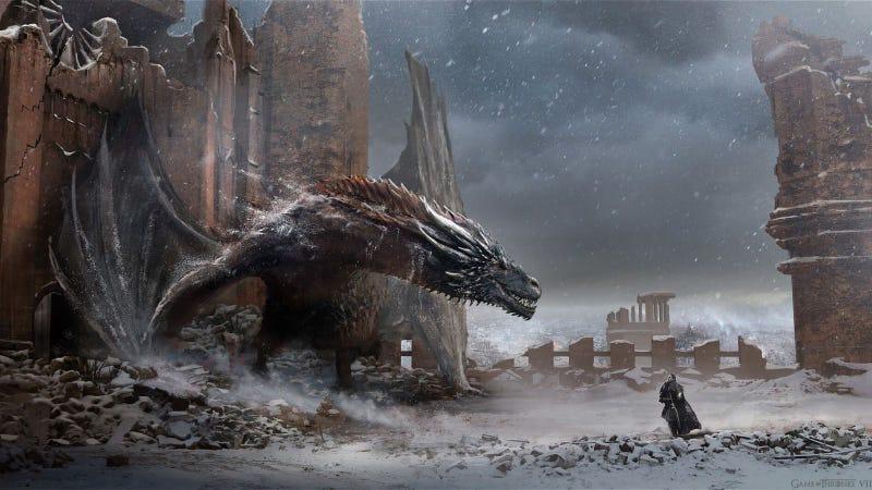 Illustration for article titled Las increíbles ilustraciones que inspiraron el final de Juego de Tronos