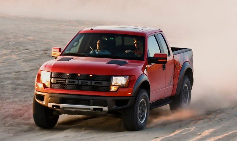 Illustration for article titled 2010 Ford F-150 SVT Raptor: First Drive