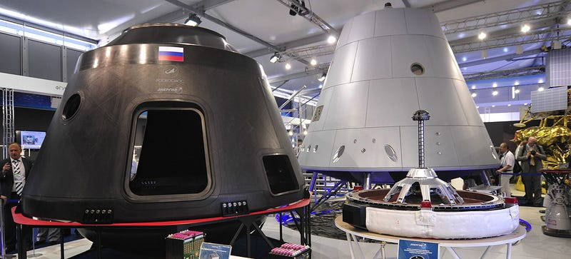 Illustration for article titled Here's an Early Look at Russia's New Manned Spacecraft
