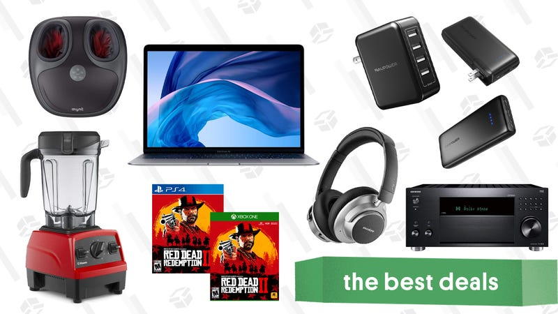 Illustration for article titled Tuesday's Best Deals: MacBook Air, Vitamix Blenders, Instant Pot, and More