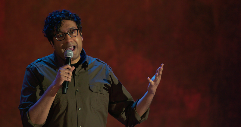 Illustration for article titled Warn Your Relatives: Hari Kondabolu's new special is best when it's at its simplest