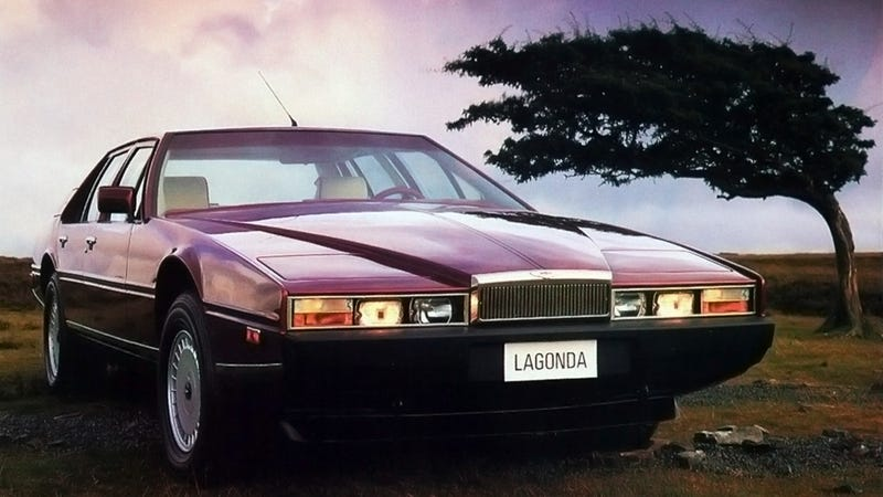 Illustration for article titled The Original Aston Martin Lagonda Is One Of The Most Bizarre Cars Ever Made