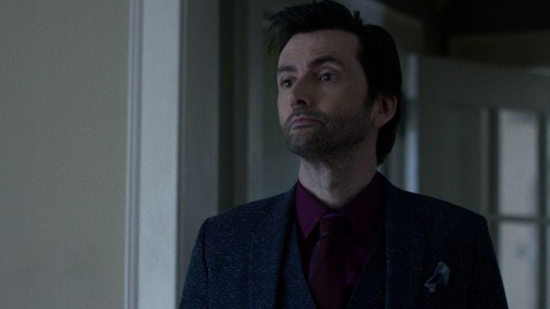 David Tennant as Kilgrave on Marvel's Jessica Jones