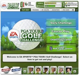 Illustration for article titled PGA Tour Challenge Screenshots