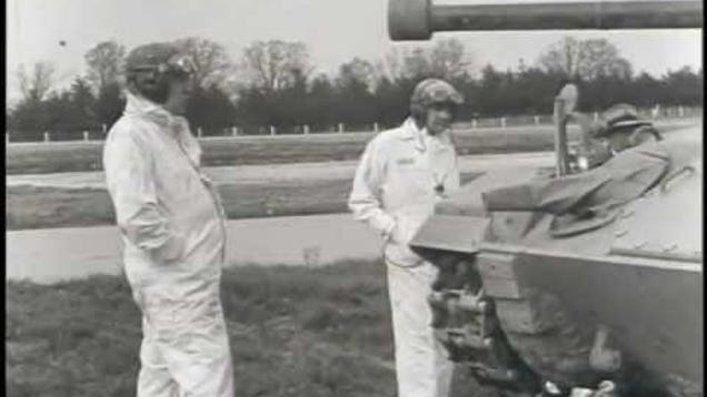 Watch GM Engineers Test Tanks During WWII