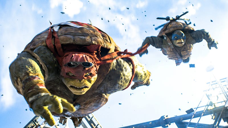 Illustration for article titled The New Teenage Mutant Ninja Turtles Movie Fails In Every Possible Way