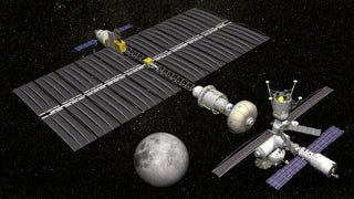 Illustration for article titled NASA wants to build a permanent outpost beyond the Moon