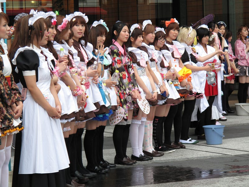 Illustration for article titled Japanese Maid Outfits, A Serious Look