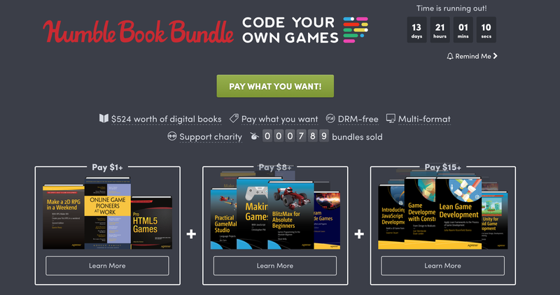 Humble Code Your Own Games Bundle