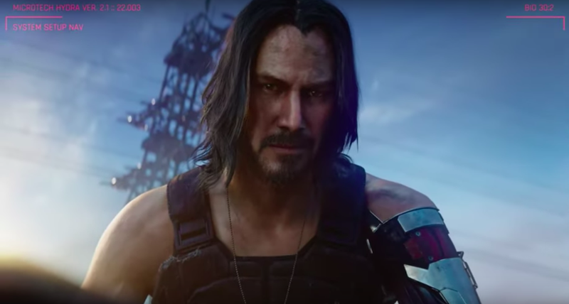 The Internet Reacts To Keanu Reeves In Cyberpunk 2077