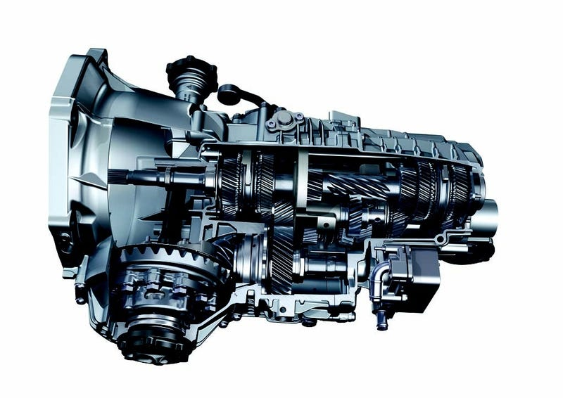 Illustration for article titled Transmission Cutaway: Porsche 991 7-Speed Manual