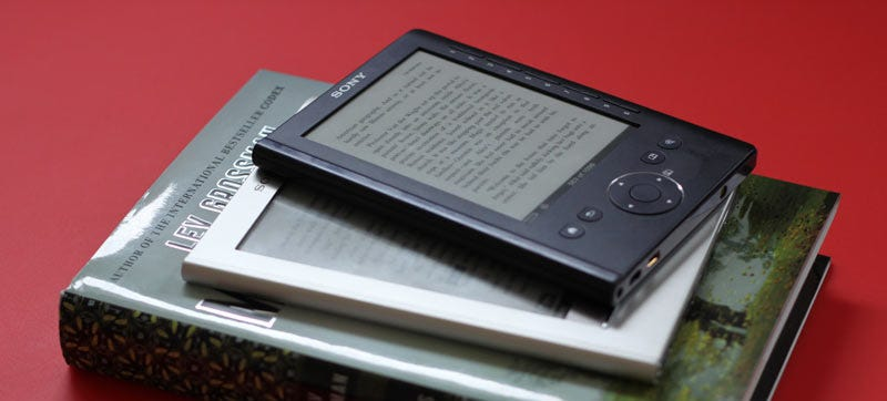 Illustration for article titled Sony Won't Make Any More E-Readers