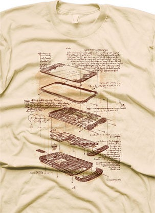 Illustration for article titled The iPhone as Designed By Leonardo da Vinci