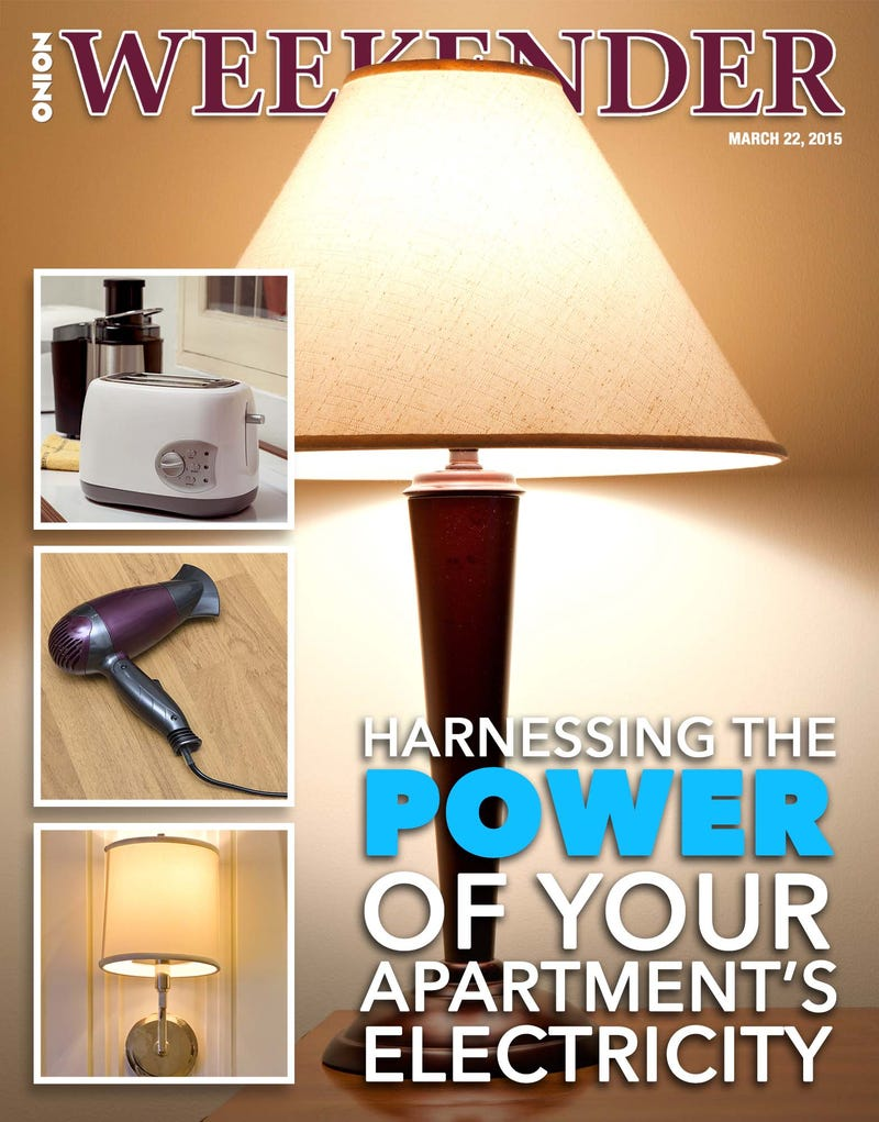 Illustration for article titled Harnessing The Power Of Your Apartment's Electricity