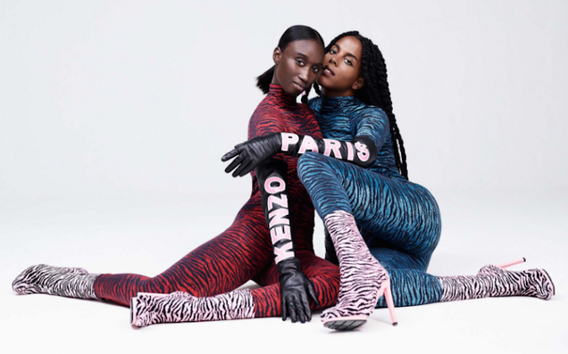 Kenzo s H&M Collaboration Is Tiger-Lady Chic