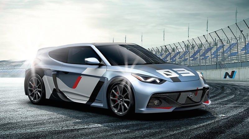 Hyundai Racing-Midship 16 Concept