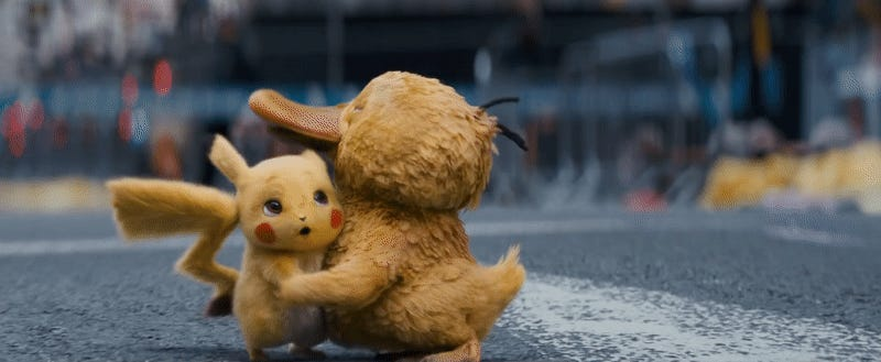 The New Detective Pikachu Trailer Will Explode Your Heart With the Strength of a Million Voltorbs