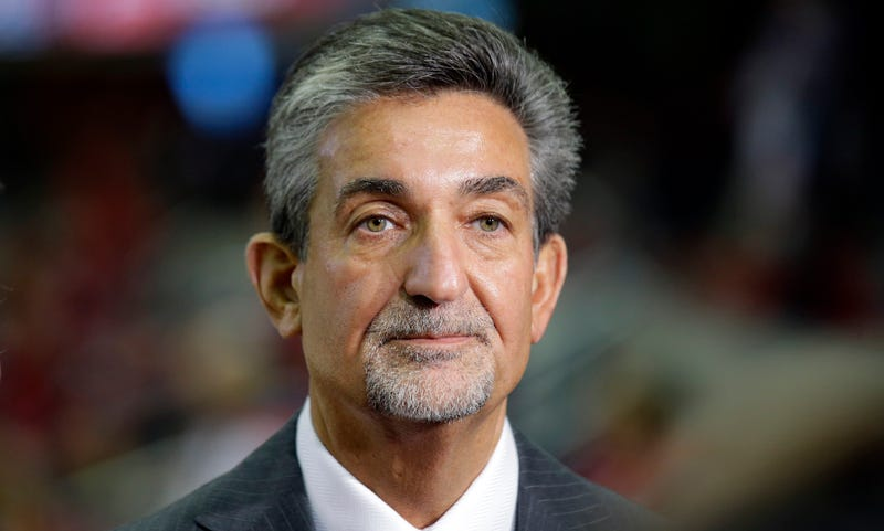 Leonsis, right before his face was melted Raiders of the Lost Ark style. (Photo credit: Alex Brandon/AP)
