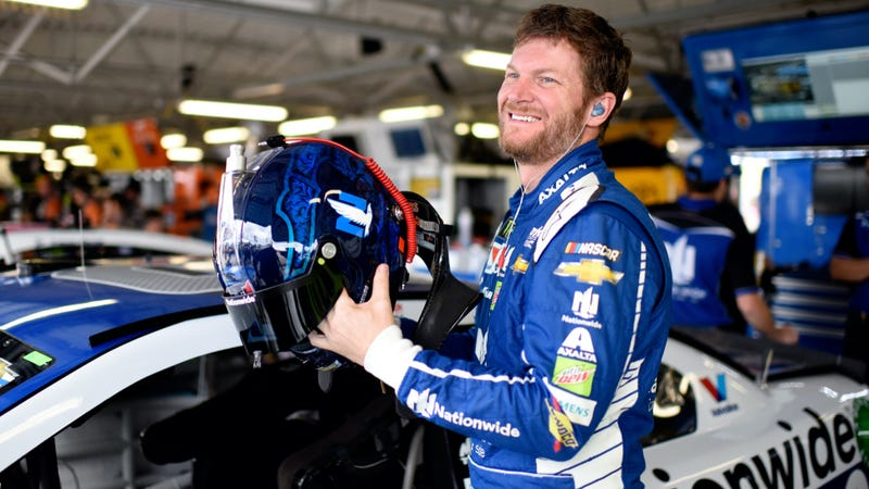 dale earnhardt jr had at least 20 concussions that he mostly kept