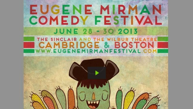 Illustration for article titled Get involved, Internet: help Eugene Mirman bring his comedy festival to Boston and Cambridge