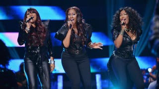 SWV performs onstage at BET's Black Girls Rock 2012 at Paradise Theater in New York City, Oct. 13, 2012.Bryan Bedder/Getty Images for BET