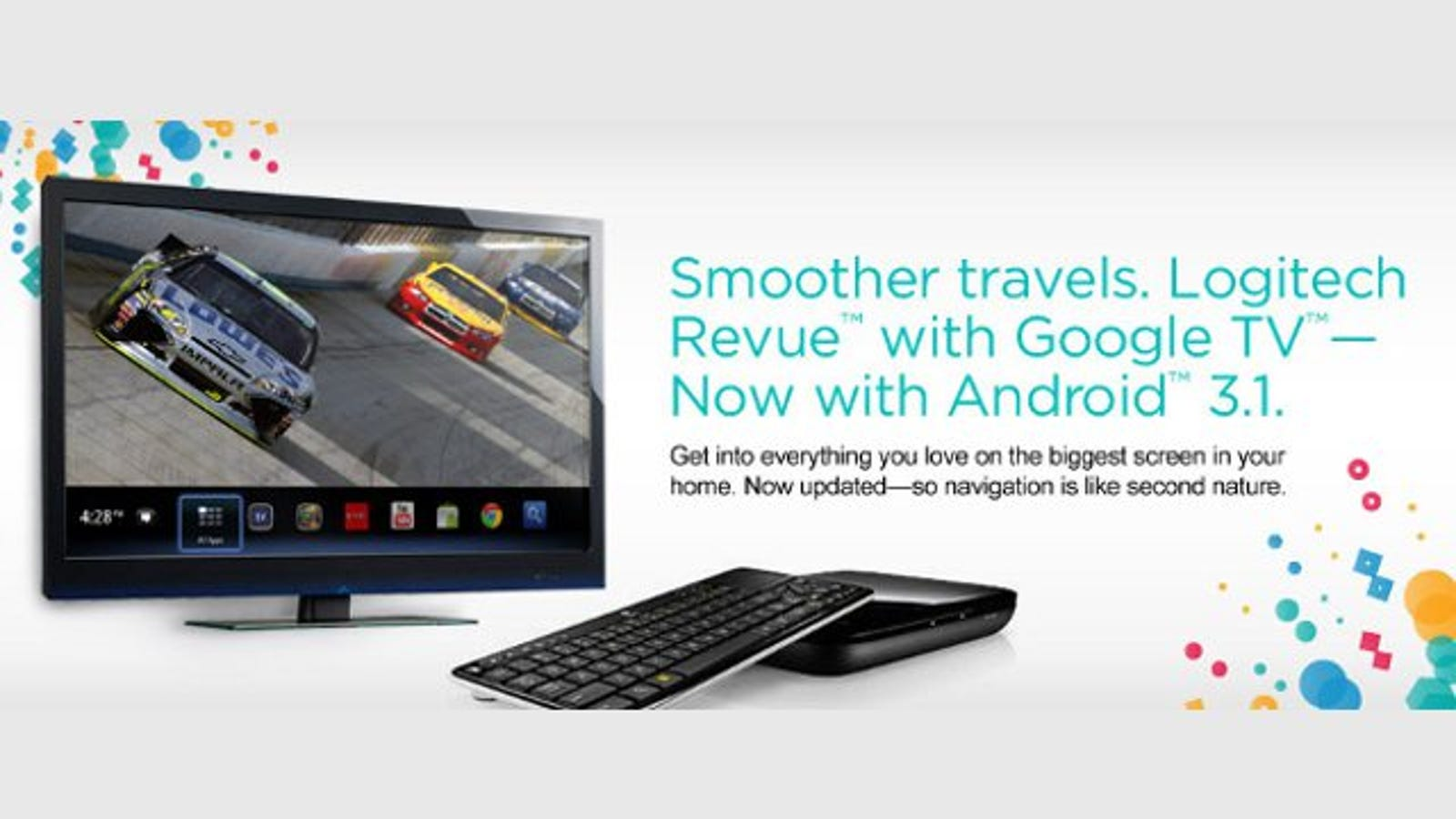 Logitech Revue Users Can Soon Tap into the New Version of
