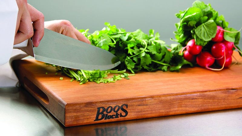Your Pick for The Best Cutting Board: Boos Block
