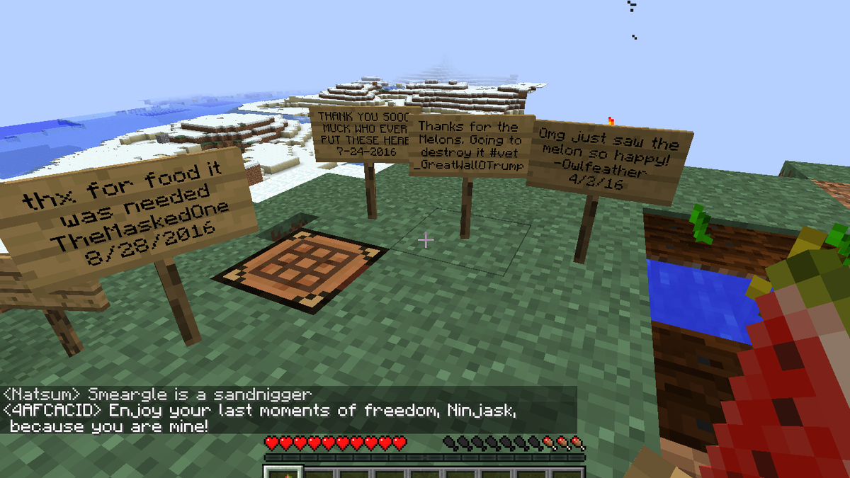 The Denizens Of Minecraft S Worst Server Are At War With Youtube