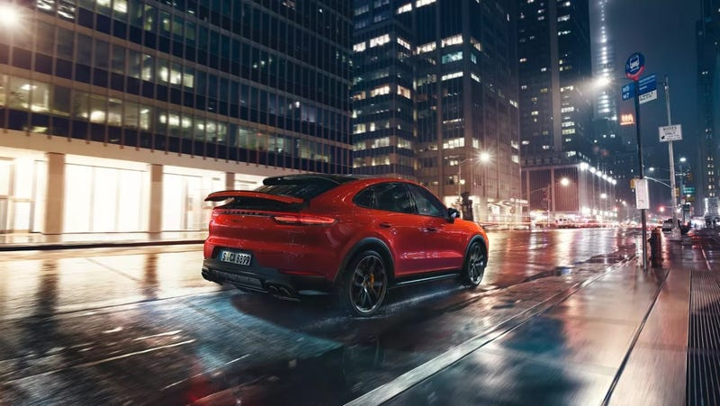Illustration for article titled The 2020 Porsche Cayenne Coupe starts at $76,550